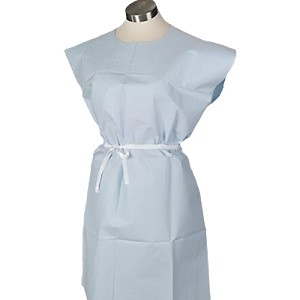 Tissue/Poly/Tissue Exam Gowns-813