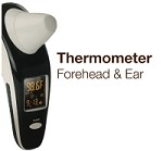 Thermometer for Forehead & Ear