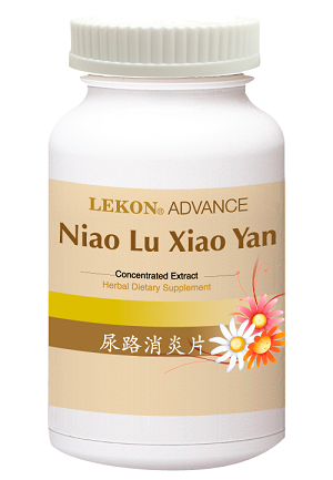 Niao Lu Xiao Yan Pian/Urinary Tract Care (200 tablets/bottle) 尿路消炎片