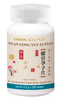 Nuan Gong Yun Zi Pian; Ferty Warm (Dozen/12 bottles) 暖宮孕子片