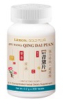Qing Dai Pian (Fu Fang); Heat & Toxic Clear (Bottle/200 tablets) 青黛丸/ 片(复方)