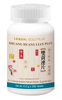 Shuang Huang Lian Pian; Cold (Warm) Relief (Bottle/200 tablets) 雙黃連片