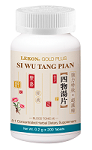 Si Wu Tang Pian; Blood Tonic - 4 (Bottle/200 tablets) 四物湯片
