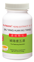 Bu Yang Huan Wu Tang (5:1/100g); Five Restoring Decoction; 補陽還五湯