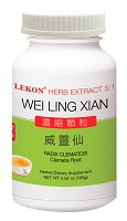 Wei Ling Xian; Clematis Root; Radix Clematidis (5:1/100g) 威靈仙
