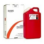 Sharps Disposal By Mail System (3 Gallon)